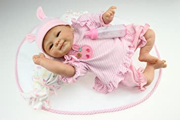 Amazon.es: ZELY 46 cm 18 Pulgadas Reborn Muñeca Bebé ...