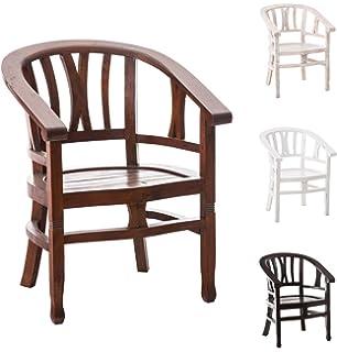 Mahagoni holz möbel  SIT-Möbel 9569-30 Armlehnstuhl