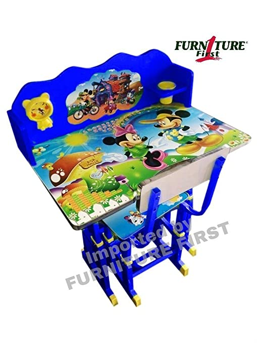 Home, Furniture & DIY New Minions First Activity Childrens Table and Chair Preschool Toddler Furniture Children's Furniture