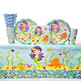 Best Creative Converting Friends Plates - Mermaid Friends Birthday Party Supplies Pack for 16 Review