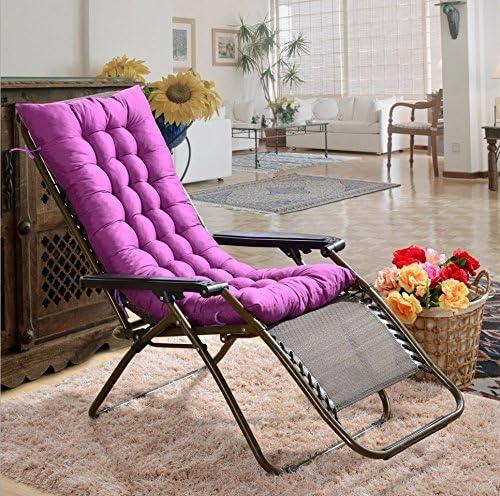 Worsendy Cojines para Tumbona, Cojines para Tumbona de jardín, Almohadas para sillones 120 x 50 x 8 cm, cómodo cojín Relleno Tumbona y lettini Prendisole, Morado: Amazon.es: Jardín