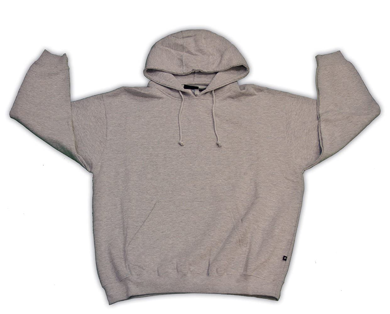 Pennant Mens Big and Tall Beefy Pullover Fleece Hoodie (GREY 4X)
