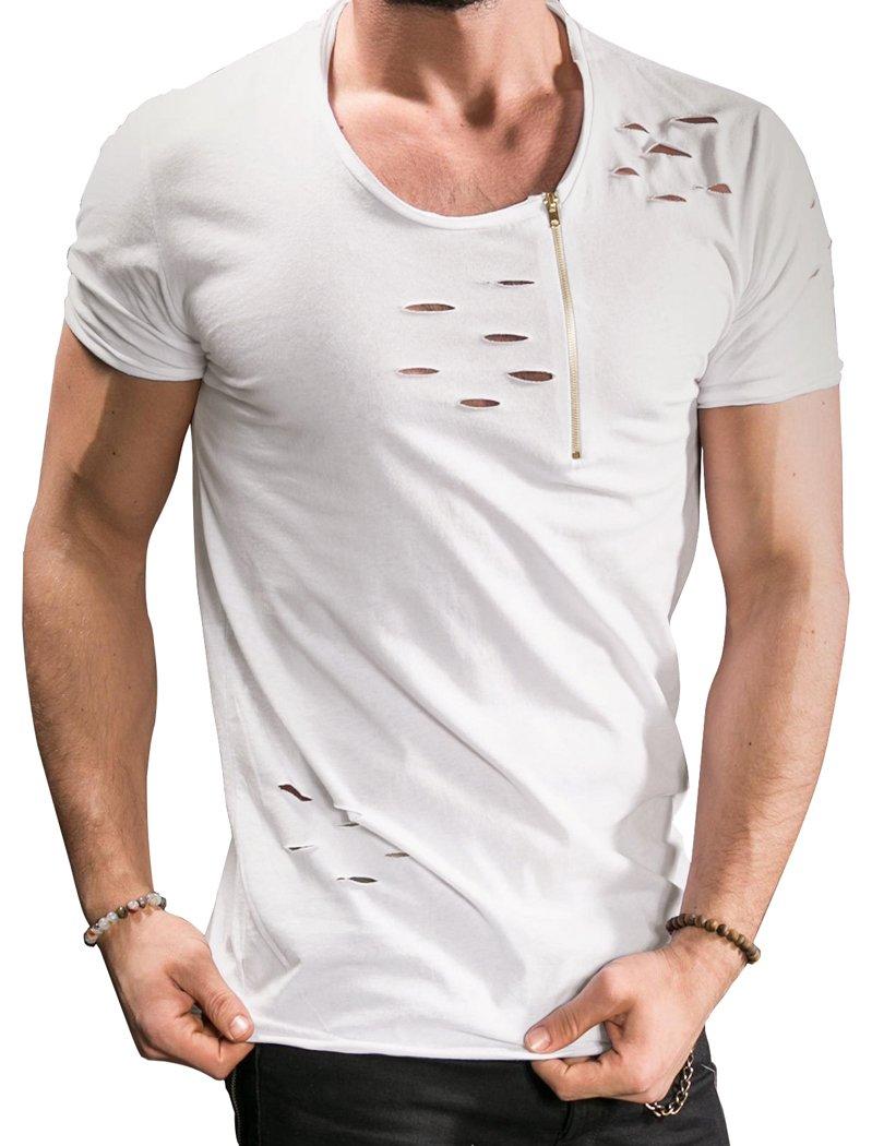 Shirt with Holes: Amazon.com
