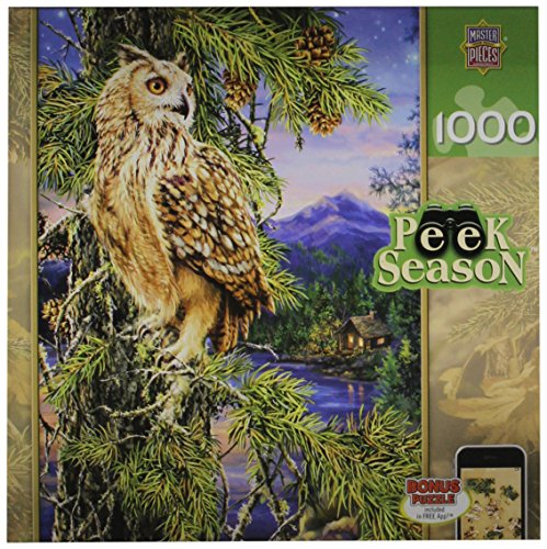 Masterpieces Night Watch Peek Season Jigsaw Puzzle (1000-Piece)