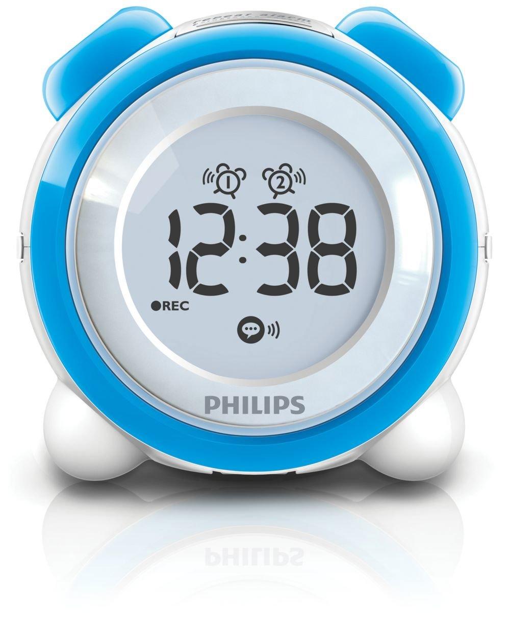 Philips - Radio (Reloj, LCD, AAA, Mono, FM, 100-240 V AC, 50/60 Hz): Amazon.es: Electrónica
