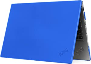 """mCover Hard Shell Case for 14"""" Lenovo ThinkPad X1 Carbon (5th Gen & 6th Gen) Laptop (X1-Carbon-6G Blue)"""