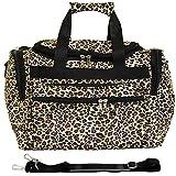 World Traveler 81T16-168  Duffle Bag, One Size, Leopard