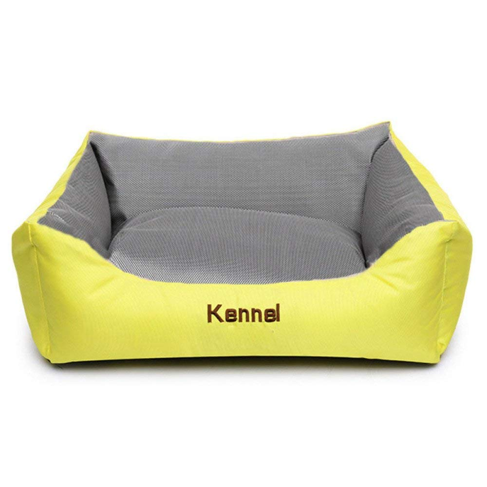 I Medium I Medium Kennel Pads Dog Beds Kennel Pillow Bed Washable Four Seasons General Pet Mattress Sofa Cushions Cat Bed Pet Supplies Cover (color   I, Size   Medium)