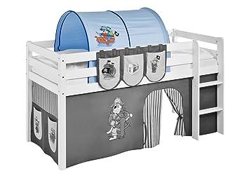 Etagenbett Tunnel : Lilokids tunnel pirat blau für hochbett spielbett und