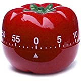LinTimes Kitchen Cooking Timer, Tomato
