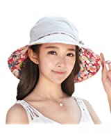 Siggi Womens UPF50 Cotton Packable Sun Hats w/ Chin Cord Wide Brim