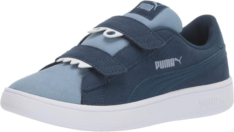 Amazon.com   PUMA Kids Smash 2 Monster Hook and Loop Sneaker ...