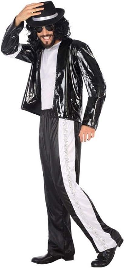 Fancy Me Disfraz de Popstar King of Pop de los años 80, Color ...