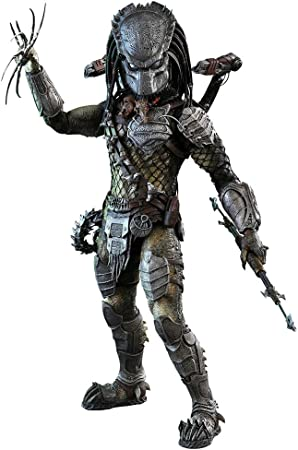 Hot Toys Movie Masterpiece: Alien vs. Predator AVP Requiem - Wolf Predator (Heavy Weaponry): Amazon.es: Juguetes y juegos