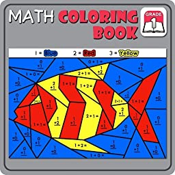 Math Coloring Book:Grade 1 [Download]