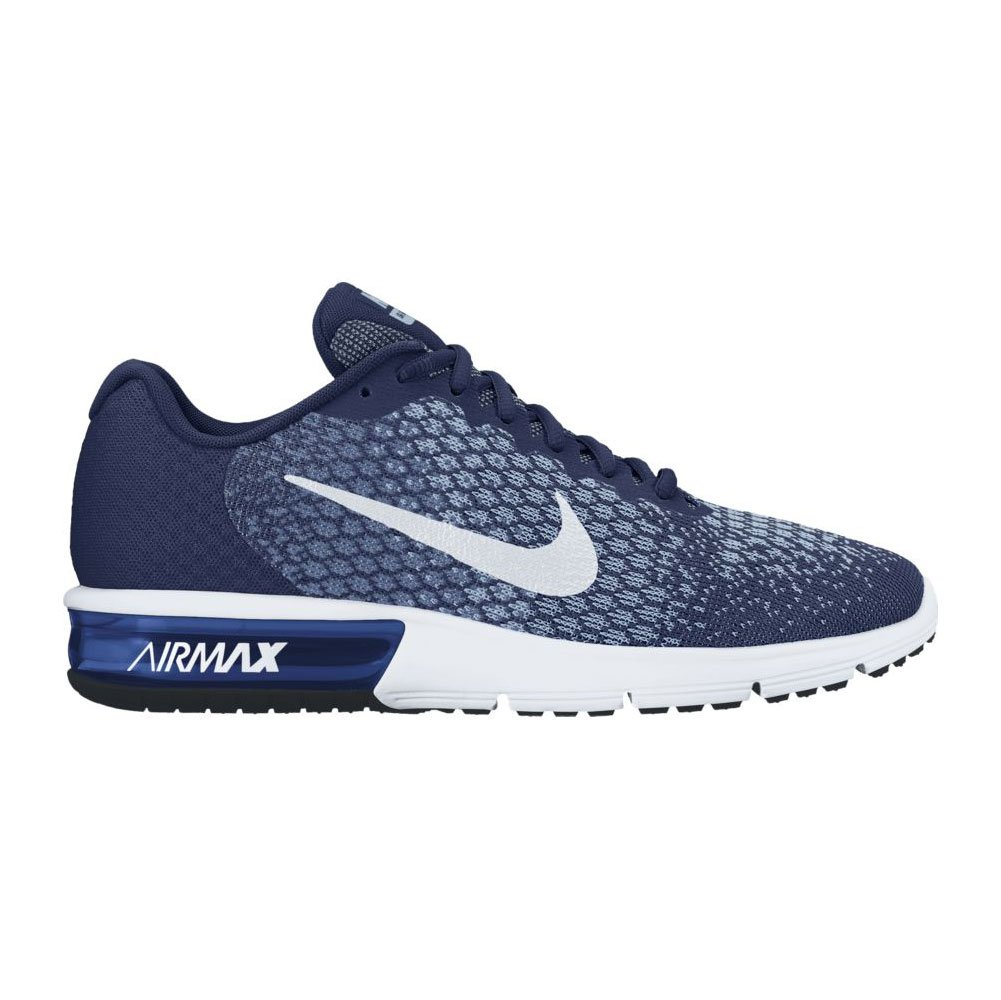 Nike Herren Air Max Sequent 2 Turnschuhe  46 EU|Binary Blue/Blue Moon/Light Armory Blue/Wei?