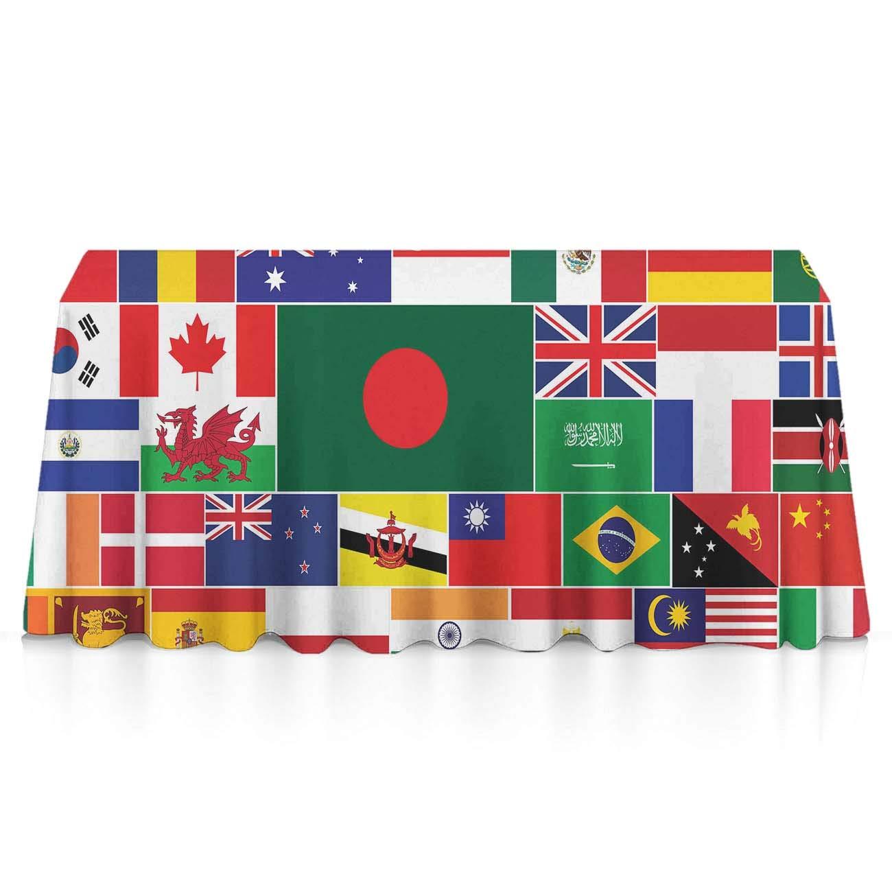 海外並行輸入正規品 GLORY National ART 長方形テーブルクロス - 世界の国旗 - 洗濯可能 こぼれ防止 アウトドア テーブルカバータペストリー ブラック ビュッフェテーブル パティオ ディナー ピクニック インドア アウトドア 52x70 inches ブラック k19kltyh-m44sd567q B07KPDZ2CD National Flag of the World 60x120 inches 60x120 inches|National Flag of the World, 右京区:25d7ba1f --- diceanalytics.pk