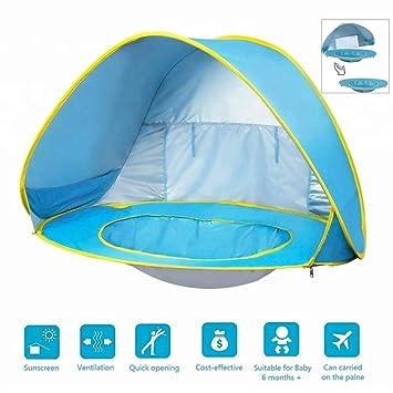 LLVV Baby Pool Tent Tienda en la Playa con Piscina y Pulsera ...
