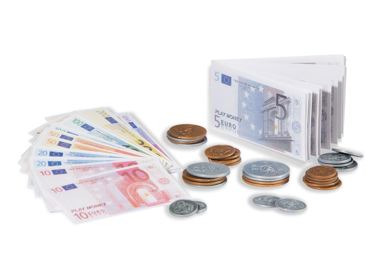 Tanner 0205.8 juguete para niños -Juego de monedas y billetes de Euro de juguete 2020717