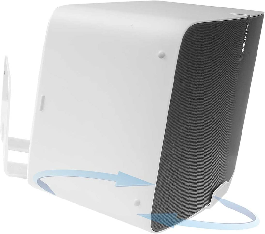 Vebos wall mount Play 5 gen 2 rotatable white 20 degrees compatible with SONOS PLAY 5