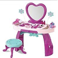 Toyshine Girls Pretend Play Luxurious Dresser Dressing Table Set (Multicolour, 27 Pieces)