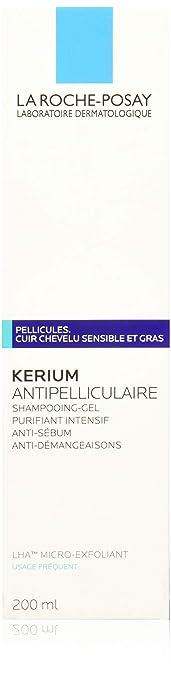 La Roche Posay, Kerium Champú Gel Exfoliante, 200 grams ...