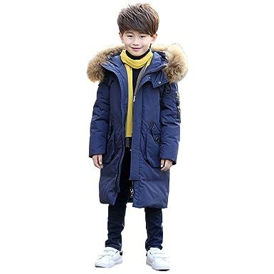 Jungen Winterjacke Mit Kapuze Kinder Winter Baumwolle Mantel