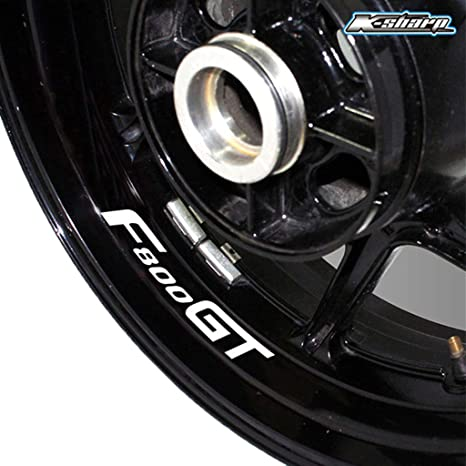 psler Pneu Moto Autocollant r/éfl/échissant Jante Autocollant de Roue pour S1000XR
