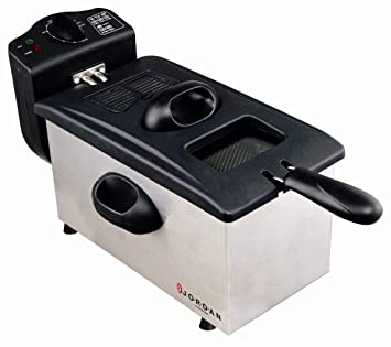 freidora eléctrica Profesional 2000 W 3lt. cesta extraíble Jordan df300 a: Amazon.es: Hogar
