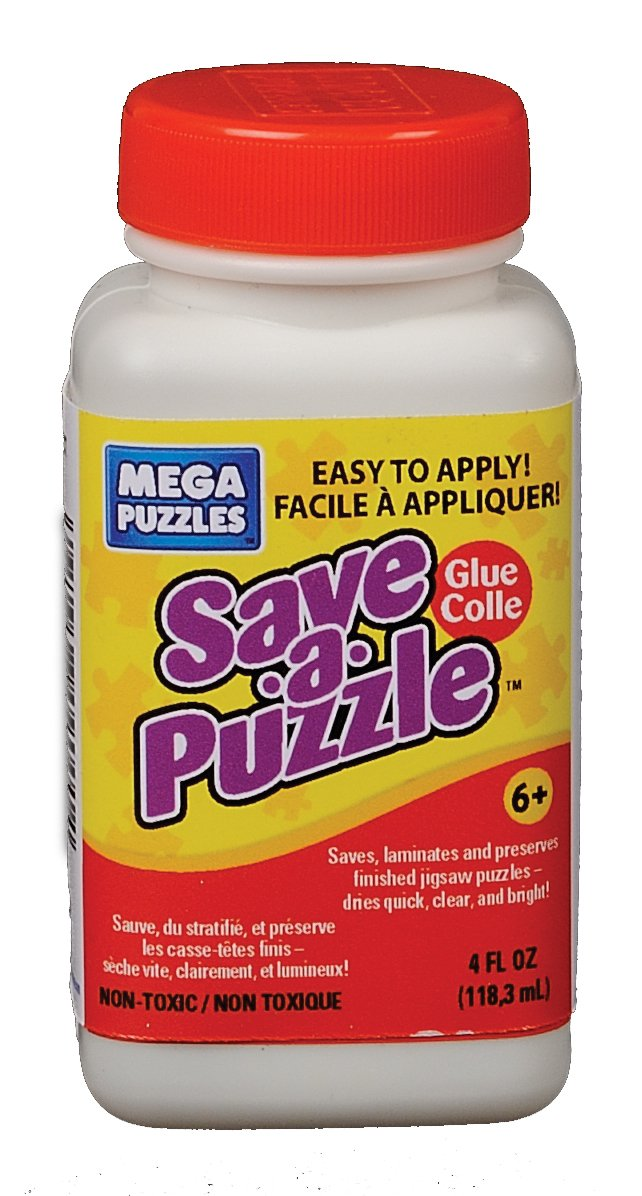 Mega Puzzles Save A Puzzle Glue 4 oz.