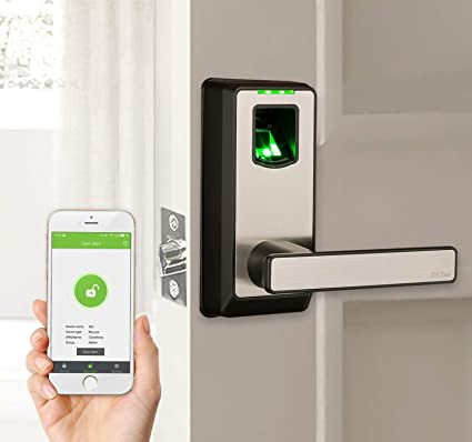 Keyless Door Entry >> Amazon Com Zkteco Electronic Smart Lock Biometric Fingerprint Door