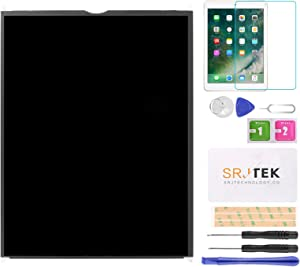 SRJTEK Screen Replacement for iPad 5 air 1st Model A1474 A1475 9.7 LCD Screen Replacement Glass Assembly Repair Parts Kit