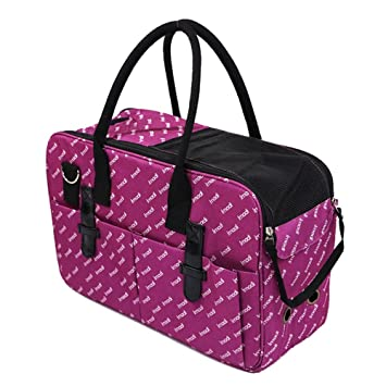 FELICIPP Bolsa para Mascotas Gato Mochila Bolsa de Perro Bolso de Mano Bolso (Color : Black, Size : 48 * 19 * 29CM): Amazon.es: Hogar
