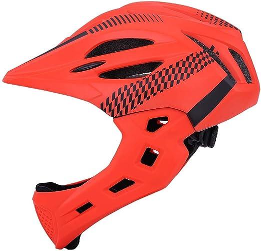 Ldd-tk Casco de Bicicleta Cara Completa Bicicleta Casco de ...