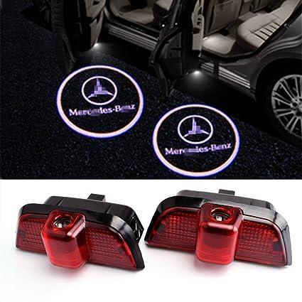 EOVVIO 2 piezas LED logotipo Proyector de Puerta de Coche ...