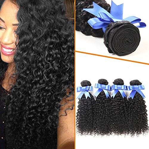 Lovenea TM 4Pcs Lot Premium Too Jerry Curl Weave Coil Hair (Jerri Curl Wig)
