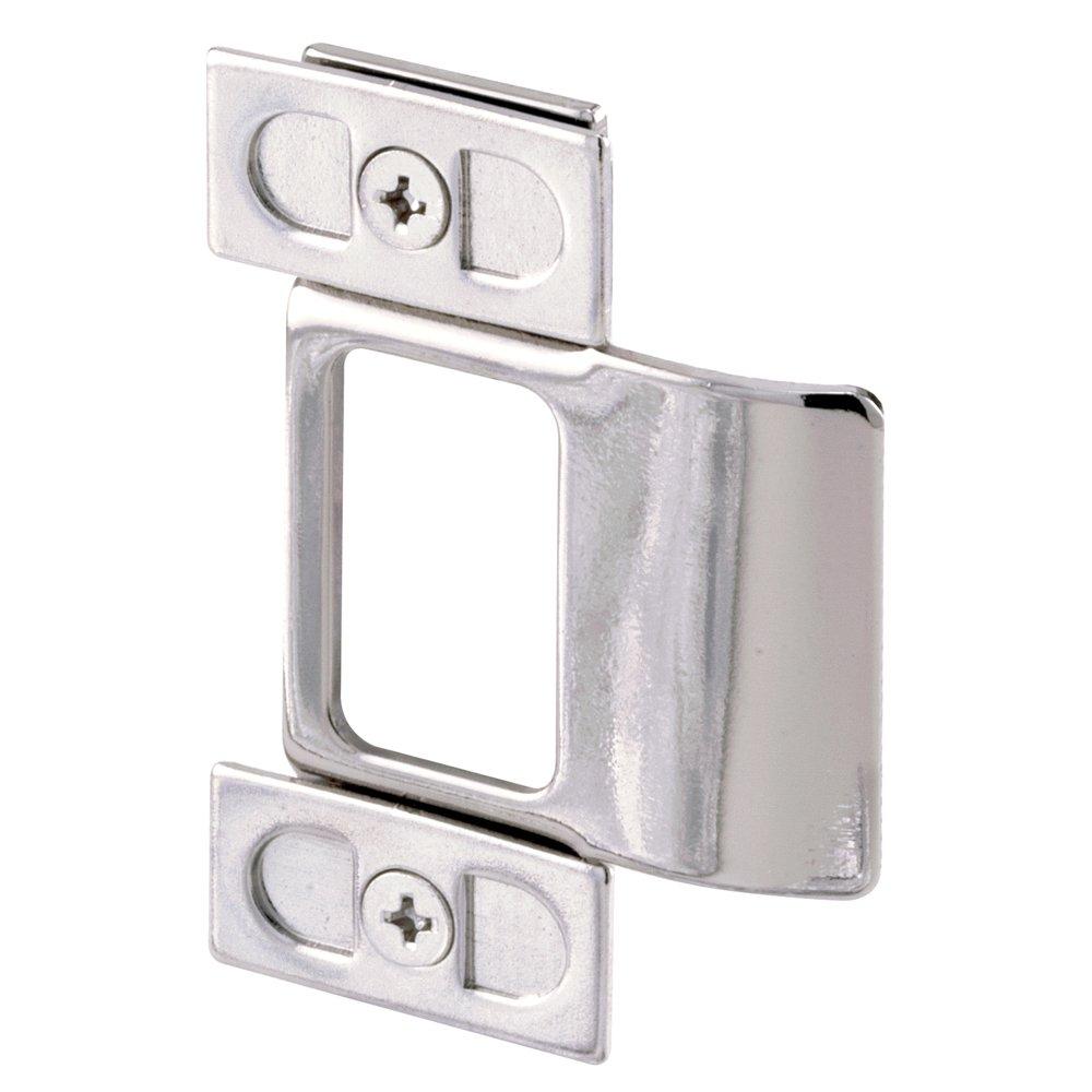Defender Security U 9488 Adjustable Door Strike, Chrome Plated, 2-Piece