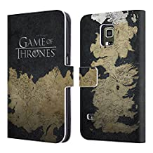 Official HBO Game Of Thrones Westeros Map Key Art Leather Book Wallet Case Cover For Samsung Galaxy S5 Active