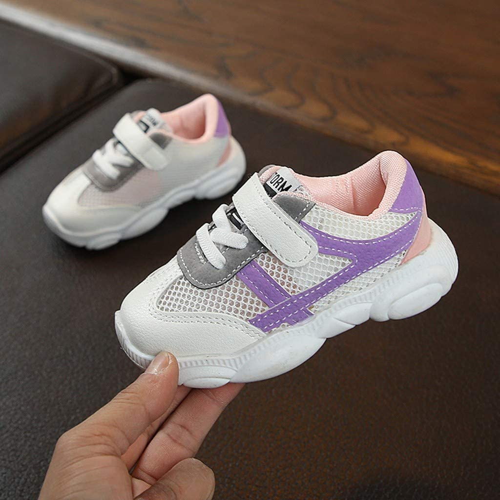 Baby Shoes Kids,Boys Girls Children Fashion Lightweight Star Mesh Sneakers Sport Running Shoes,Summer Infant Kids Baby Girls Boys Mixed Color Mesh Run Sport Sneakers Shoes