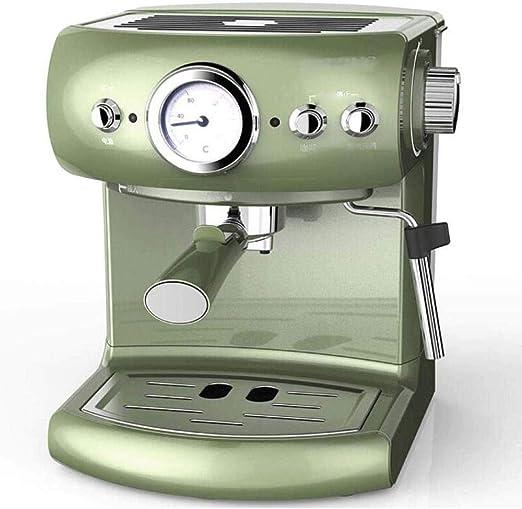 JYDQT Máquina de café Expresso Cafetera con Leche al Vapor vaporizador, la Bomba y Moka máquina, Acero Inoxidable: Amazon.es: Hogar