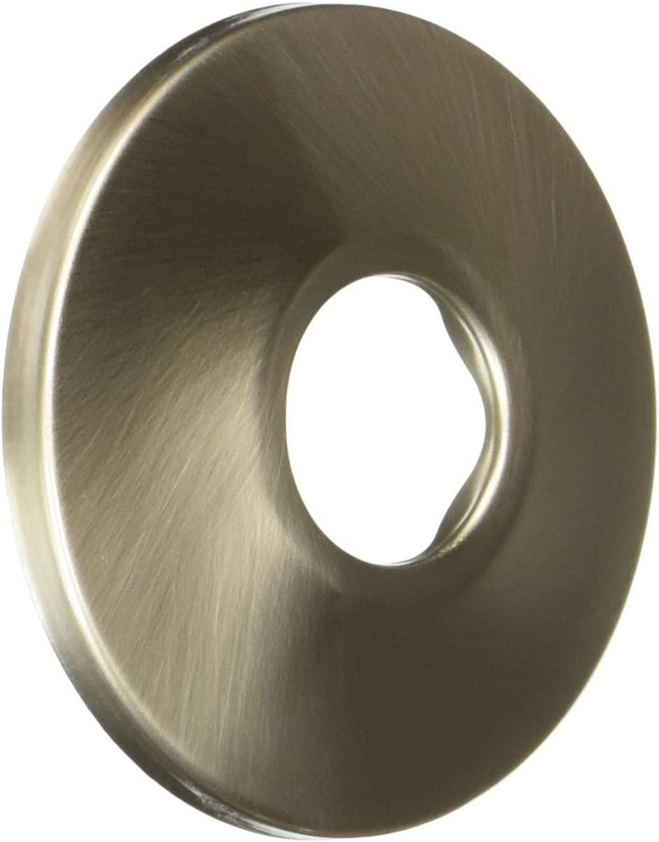 LDR 507 8104BN Wall Flange 1//2-Inch I.P or 5//8-Inch Copper Brushed Nickel