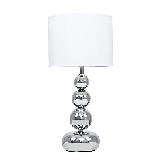 Blanc Lampe De IntégréContemporain Poli Sur Moderne Niveaux Touchtactile Chrome TableChevetBureauVariateur Et Effet Minisun Eclairage 4 u1l35FKJcT