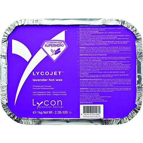 Lycon LycoJet Lavender Wax Stripless Hard Wax 35.3 oz by Lycon