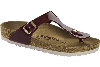 Birkenstock Gizeh Sandalen für Damen Braun