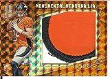 2016 Spectra Monumental Memorabilia Neon Orange #28 Paxton Lynch MEM 2/3 Broncos