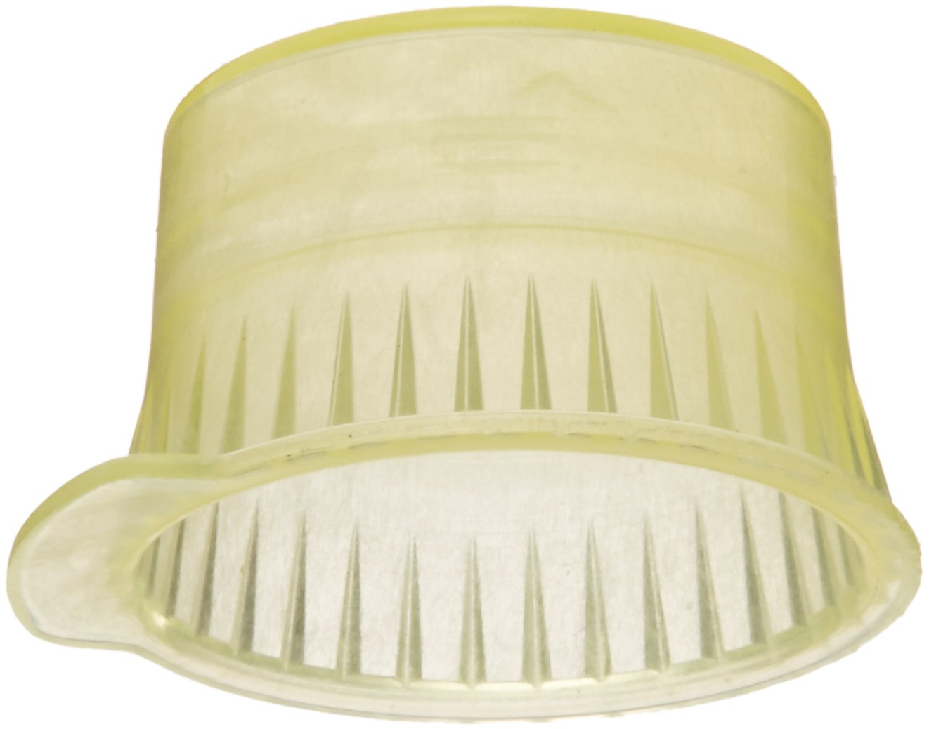 PlatinumCode 88031Y 13mm Cap for 13mm Glass Tubes, Yellow (Bag of 1000)