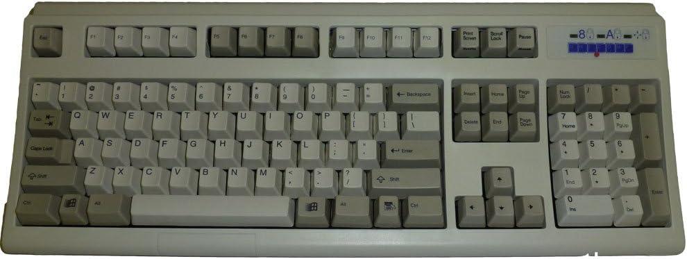 Keytronic E03600U1 - Teclado (USB, QWERTY, 0-40 °C, Beige, 5-90%)
