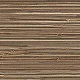 Brown Grasscloth Wallpaper