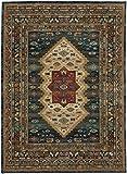 Karastan Spice Market 90937-50130 Mandeb Sapphire Area Rug (5'3'' x 7'10'')