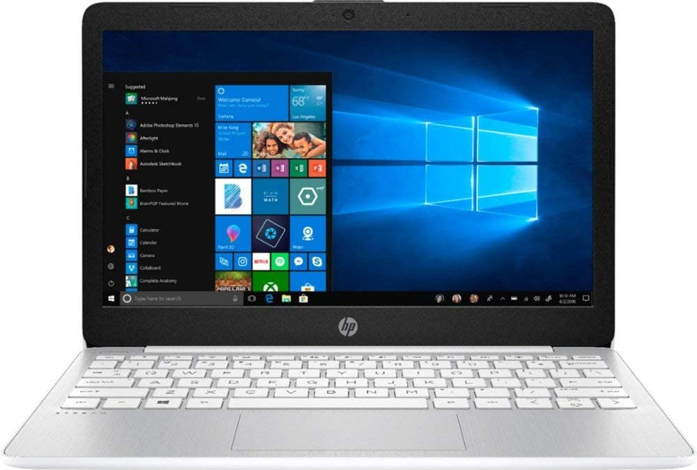 Newest HP 11.6inch Stream Laptop, Intel Atom Processor Up to 2.0 GHz, 4GB DDR3 RAM, 32GB SSD, Intel HD Graphics, WiFi, Bluetooth, HDMI, Win10 Home (Renewed)